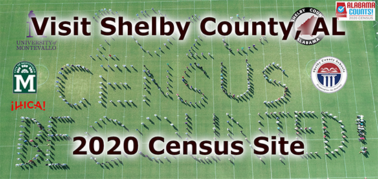 Visit Shelby County, AL 2020 Census Site