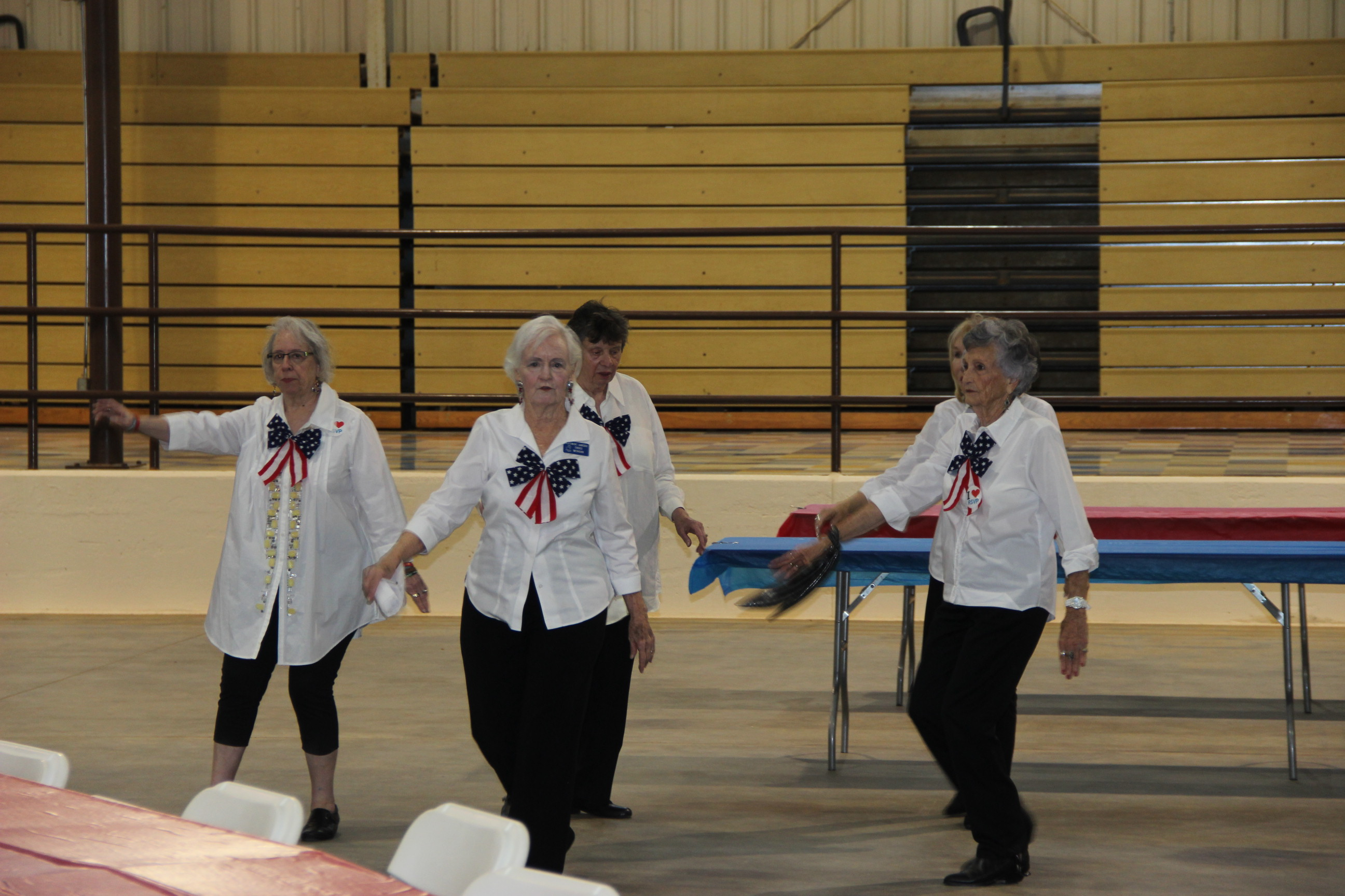 Image of Heardmont Senior Center dancers