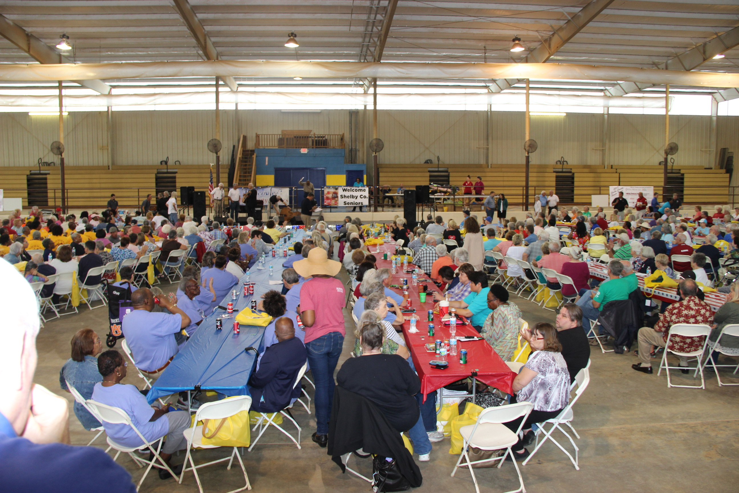 Image of attendees at the 2017 Senior Picnic