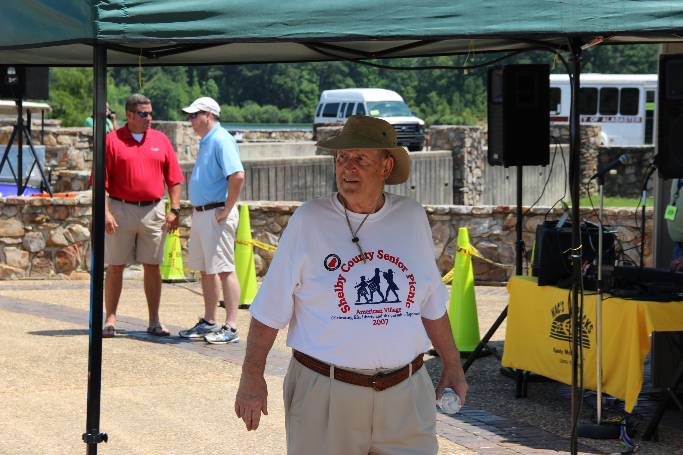 Image of Marvin Copes at the 2014 Senior Picnic at Oak Mountain State Park